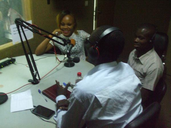 Planète paix à la radio Atlantique « La paix et le développement durable »