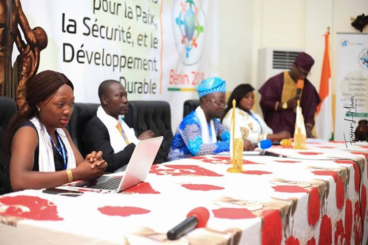 COTONOU PEACE SUMMIT : COMMITMENT OF YOUNG CHAMPIONS FOR AN AFRICA TAKING OFF